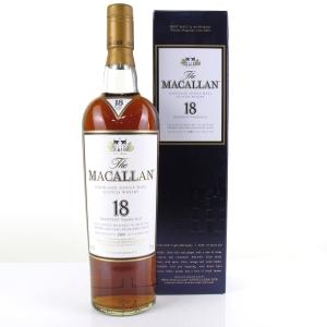 Macallan 18 Year Old 1989