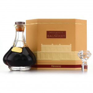 Hennessy Nostalgie de Bagnolet Cognac Crystal Decanter / Singapore Duty Free