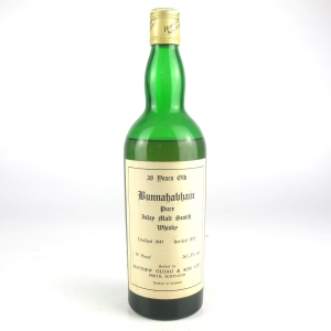 Bunnahabhain 1947 Single Cask 28 Year Old