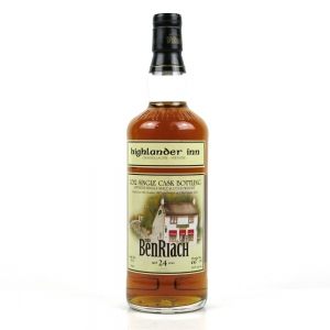 Benriach 1987 Single Cask Exclusive for Highlander Inn 24 Year Old