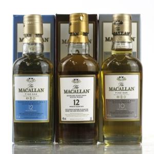 Macallan Miniature Selection 3 x 5cl