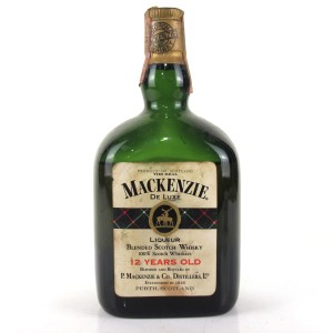 The Real Mackenzie 12 Year Old De Luxe Scotch Whisky 1960s