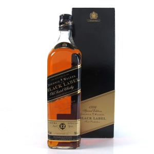 Johnnie Walker Black Label 12 Year Old 1998 Special Edition