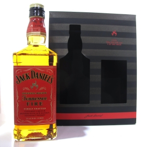 Jack Daniel's Tennessee Fire Gift Set / Including 4 Ice Shot Molds