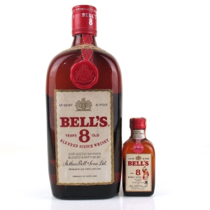 Bell's 8 Year Old 1970s / Including Miniature