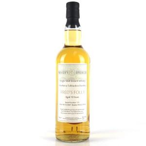 Tullibardine 2007 Whisky Broker 10 Year Old / Fred's Folly