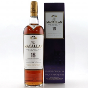 Macallan 18 Year Old 1992 75cl / US Import
