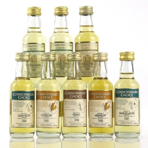Gordon and MacPhail Miniature Selection 8 x 5cl