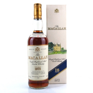 Macallan 18 Year Old 1972