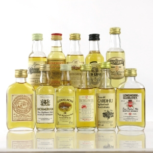 Highland & Speyside Miniature Selection x 11