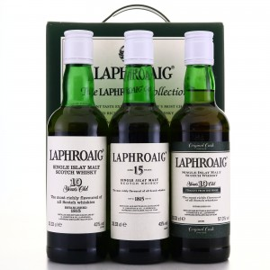 Laphroaig The Collection 3 x 33.33cl / includes Original Cask Strength