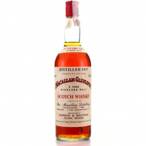 Macallan 1937 Gordon and MacPhail 33 Year Old / Co. Pinerolo Import