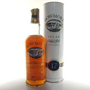 Bowmore 17 Year Old 1990s / Screen Print Label