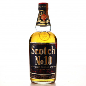 Scotch No.10 Very Fine Scotch Whisky 1960s