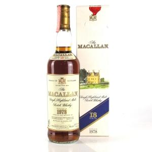 Macallan 18 Year Old 1978