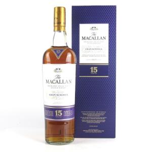 Macallan 15 Year Old Gran Reserva