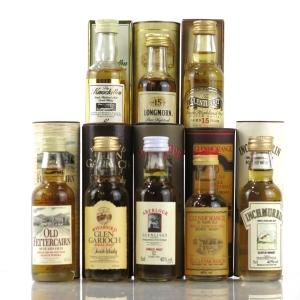 Highland & Speyside Miniature Selection x 8