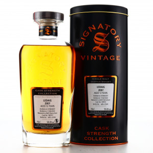 Ledaig 2007 Signatory Vintage 12 Year Old Cask Strength