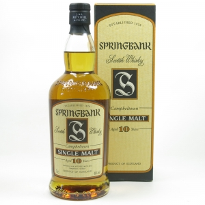 Springbank 10 Year Old 1990s