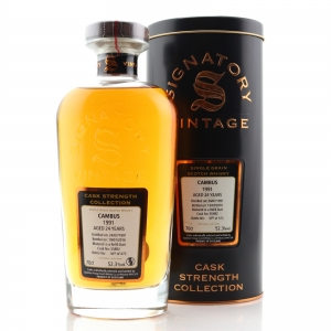 Cambus 1991 Signatory Vintage 24 Year Old Cask Strength