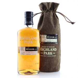 Highland Park 2004 Single Cask 13 Year Old #6577 / Belgium