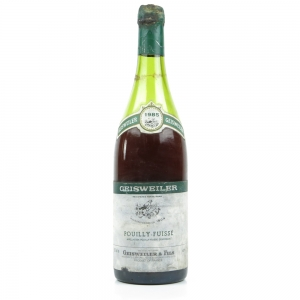Geisweiler 1985 Pouilly Fuisse