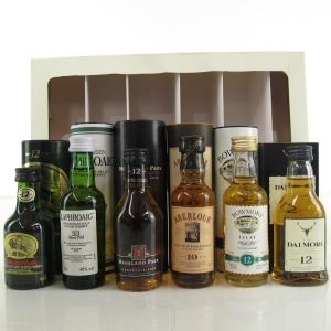 Oddbins Malt Whisky Selection Miniatures 6 x 5cl 1990s
