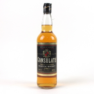Consulate Scotch Blend 1980s