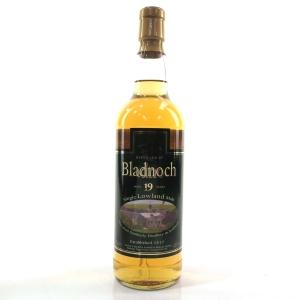 Bladnoch 19 Year Old / Distillery Label