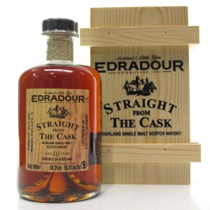 Edradour 2008 Straight from the Cask 10 Year Old / Sherry Cask