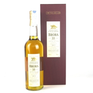 Brora 35 Year Old 2013 Release