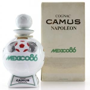 Camus Napoleon Cognac Mexico World Cup '86 Decanter
