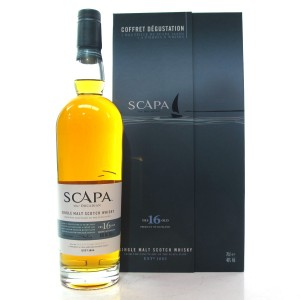 Scapa 16 Year Old Gift Set / Including Whisky Stones