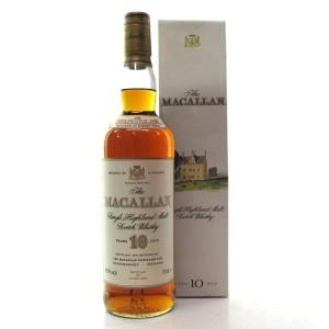 Macallan 10 Year Old 1990s