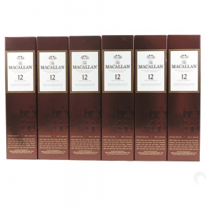 Macallan 12 Year Old 6 x 70cl