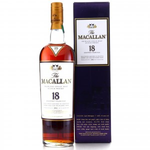 Macallan 1993 18 Year Old