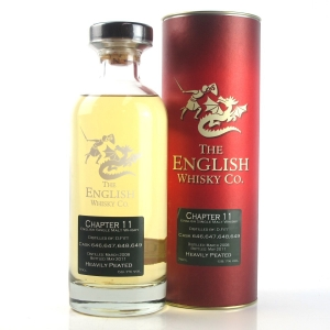 English Whisky Co Chapter #11 / Heavily Peated