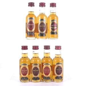 Singleton of Auchroisk Miniature Selection 7 x 5cl