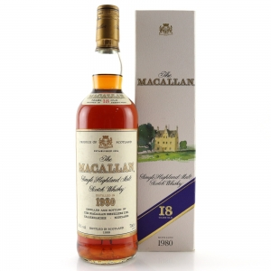 Macallan 1980 18 Year Old