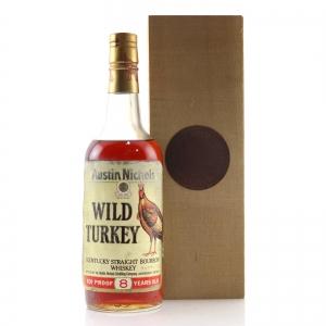 Wild Turkey 8 Year Old 101 Proof 1990s / Wooden Box