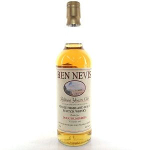 Ben Nevis 1996 Private Cask 15 Year Old / Doug Humphries