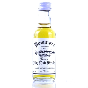 Bowmore Sherriff's Reproduction Miniature 5cl