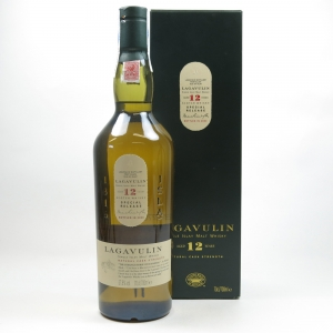 Lagavulin 12 Year Old 2003 Release Front