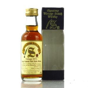 Macallan 1973 Signatory Vintage 20 Year Old Miniature 5cl