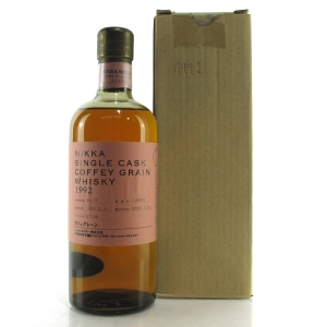Nikka 1992 Coffey Grain Single Cask #116314