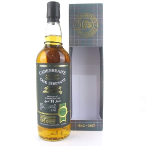 Tormore 1984 Cadenhead's 33 Year Old