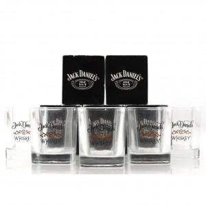 Jack Daniel's Branded Tumbler Glasses x 5