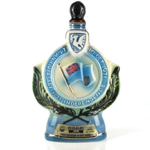 Beam 8 Year Old Decanter 1971 / 1st Anniversary of Fiji Independence