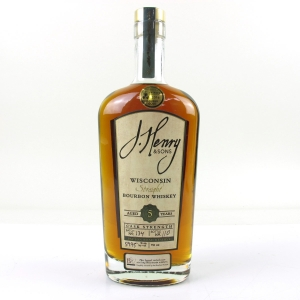 J.Henry and Sons 5 Year Old Wisconsin Straight Bourbon Whiskey