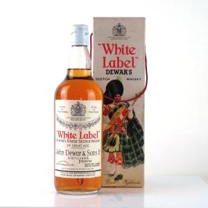 Dewars White Label 1980s